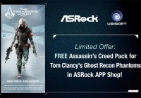 ASRock a Ubisoft prinášajú Assassin's Creed Pack pre Ghost Recon Phantoms