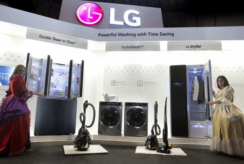 03 LG Introducing its new collection of home appliances at LG InnoFest Europe held in Lisbon