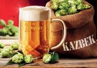 Kazbek ležiak– unikátny pivný špeciál z dielne pivovaru Krušovice.
