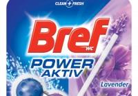 Dokonalá hygienická čistota s novým Bref Power Aktiv Lavender.