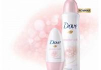 Zažite pocit hebkosti na vlastnej koži s novým antiperspirantom Dove.