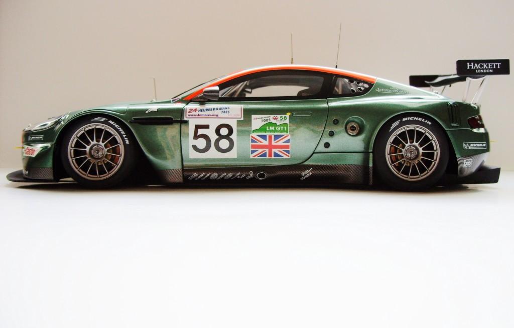 Aston Martin DBR9 - Le Mans 2005+