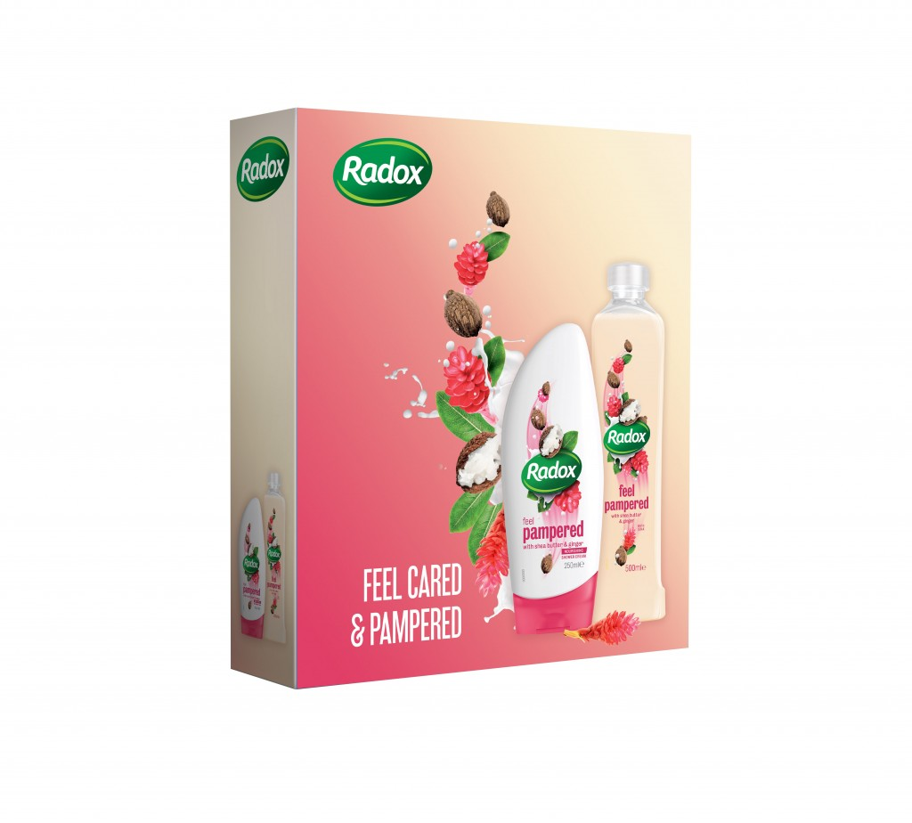 9115929 Radox Feel Pampered kazeta X15