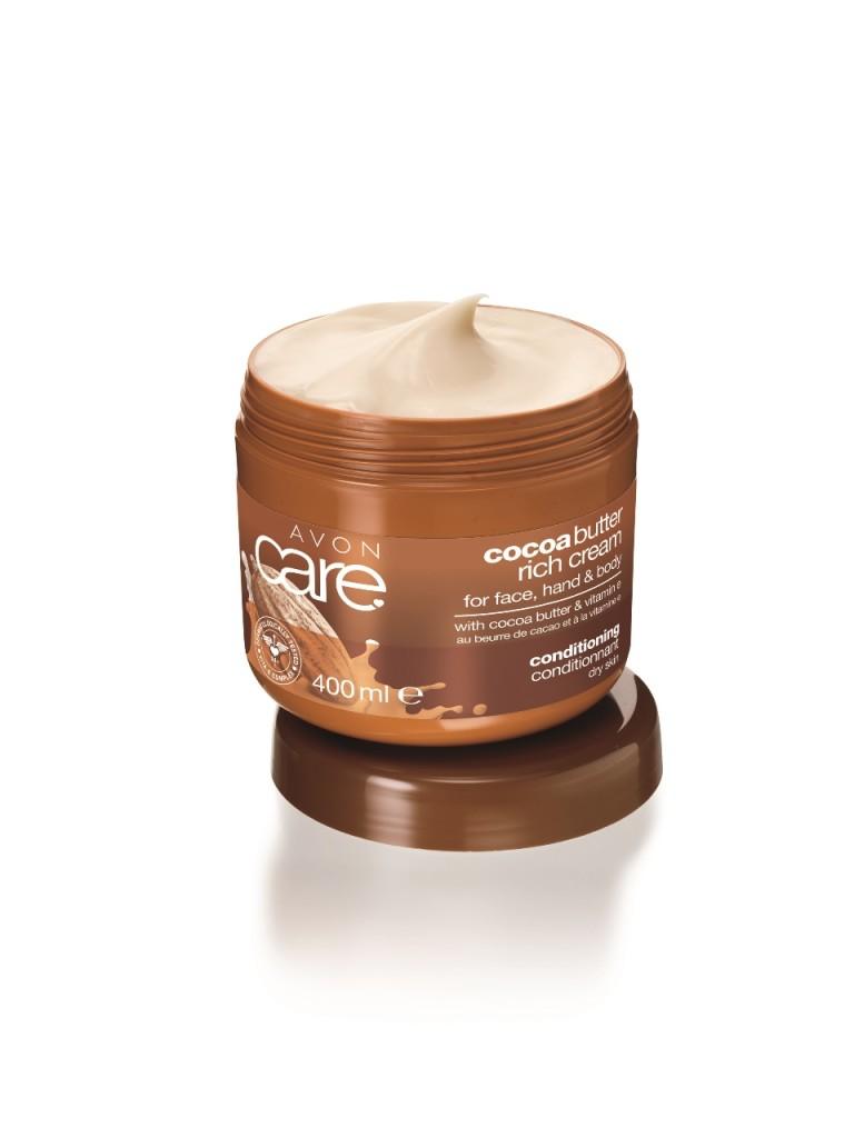 Revitalizacny krem na tvar, ruky a telo s kakaovym maslom a vitaminom E_...