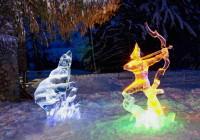 Philips LED opäť oživí ľadové sochy.