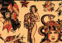 "Norman Collins alias Sailor Jerry je otcem a legendou klasického ""old school"" tattoo."
