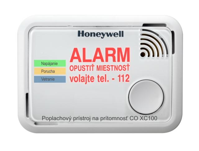 Poplachový prístroj - Honeywell+