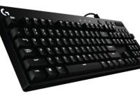 Dve nové mechanické herné klávesnice so spínačmi Cherry MX od Logitech G