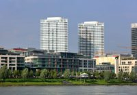 Panorama City nesie 36000 m2 fasádnych elementov Schüco.
