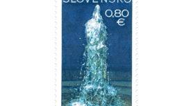 Herliansky gejzír – európsky prírodný unikát na poštovej známke