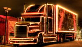 Coca-Cola Vianočný kamión je opäť na cestách