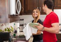 Umývanie riadu prináša voňavý efekt