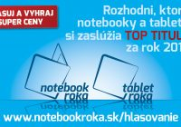 Notebook roka 2017 – hlasujte teraz a vyhrajte