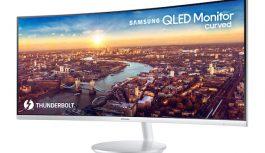 Veľtrh CES 2018 priniesol prvý zakrivený QLED monitor