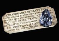 Chystá sa unikátna dražba modrého diamantu