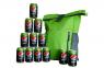Nepremokavé batohy a zásoba Pepsi