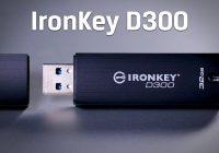 Kingston IronKey D300 – mobilný trezor pre dáta