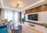 Dokonalá súhra nábytku a dekorácií v obývačke
