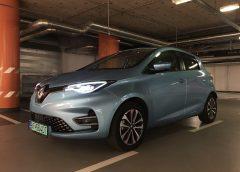 Renault Zoe má väčšiu batériu adlhší dojazd