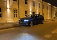 Audi A3 35 TDi všportovom režime pošteklí sluch