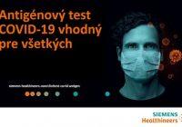 Pre Slovensko sú dostupné najkvalitnejšie antigénové testy