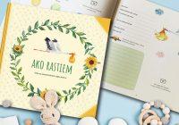 Ako rastiem – výnimočná kniha na zaznamenávanie detstva vášho drobca